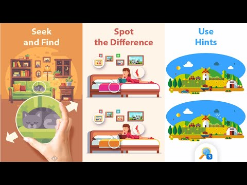 TapTap Differences: Identify & Find Things Objects Android Gameplay