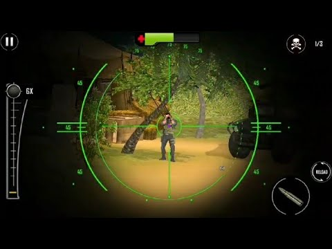 Army Sniper Shooting 2019:New Shooting Game, Android Gameplay.