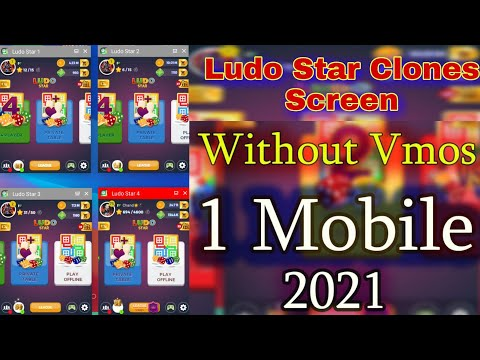 Ludo Star 1 Mobile 4 Ludo On Screen At Time Used 2021 || Ludo Star Clones Screen 2021