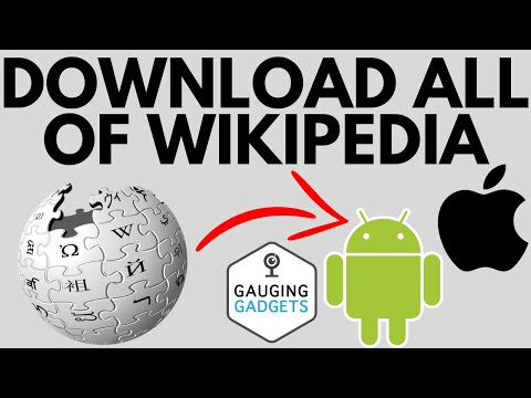 How to Download Wikipedia Offline Android & iPhone - Download All of Wikipedia
