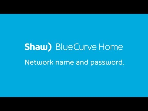 Find Your Network Name and Password