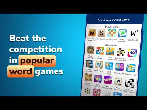 video review of Free Word Games Cheats & Helper by WordFinder