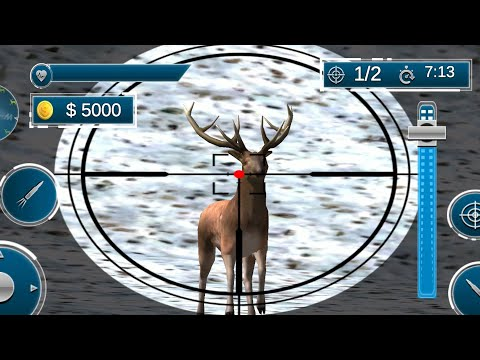 Wild Deer Hunting Adventure Animal Shooting Games - Android Gameplay