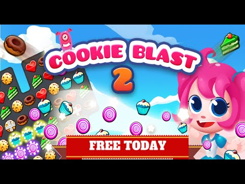 Cookie Blast 2- Level1 Walkthrough (Gameplay) Strategy, Tips and Ticks