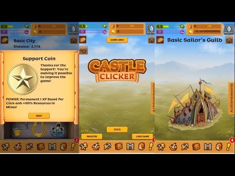 Castle Clicker: Build a City, Idle City Builder - Gameplay - Android / Simulation /  Kelson Kugler