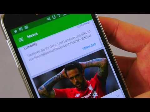 Onefootball on Android