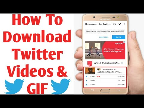 How To Download Twitter Videos On Android   Twitter Me Video Kaise Download Kare