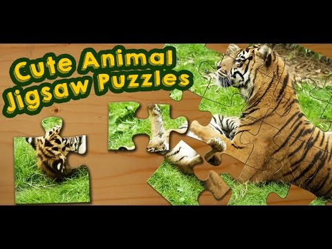 video review of Animal Babies Jigsaw Puzzles Game