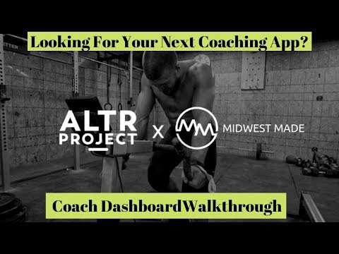 Looking for your Next Coaching App? ALTR Project