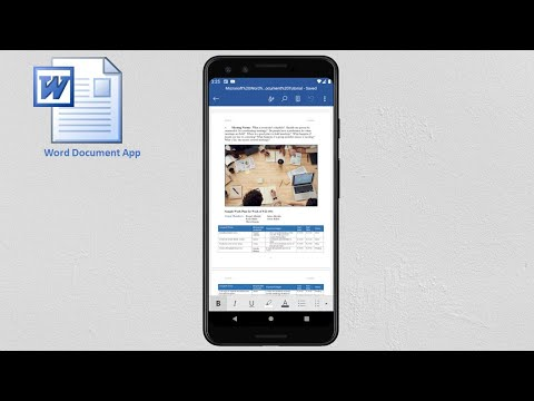 Word In Android Phone | How To Use Microsoft Word Document in Mobile Phone | MS word App in Android