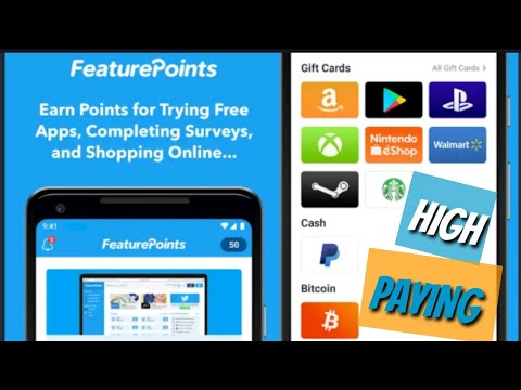 How To Make Money Online With The FeaturePoints App & Website (Make Money Online High Paying)