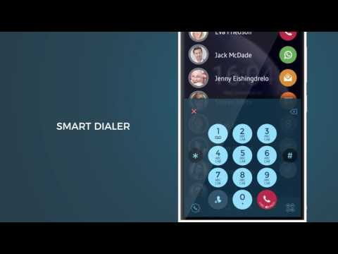 video review of Contacts, Phone Dialer & Caller ID: drupe