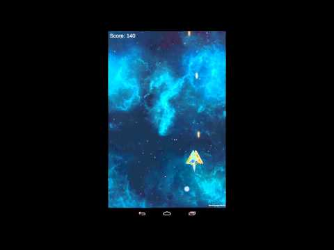 Space Shooter Unity3D Game build to Android