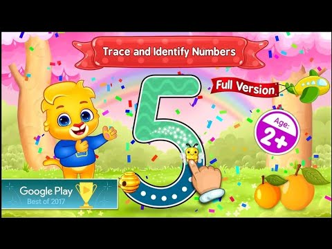123 Numbers - Count & Tracing - Android gameplay Movie apps free best Top Film Video Game