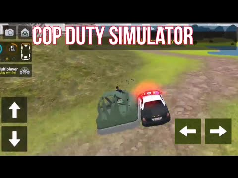 Stop The Swift Hovercraft - Cop Duty Police Car Simulator - Android Gameplay