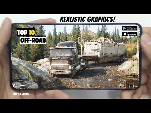 🔥TOP 10🔥Realistic Offroad Simulator Games For Android & IOS 2020 | Offline Offroad games for android