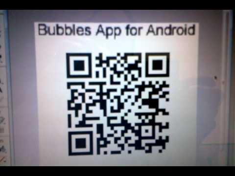QR Code for FREE Bubbles App for Android mobile phones