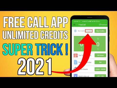 Free Call Unlimited Credit App | Get Unlimited Credits in FreeCall App | Fake Call Alternative