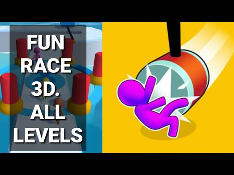 Fun Race 3D ALL LEVELS Ep 1 - 32 Android ios gameplay No Cheats No Mod apk