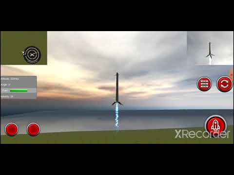 video review of Space Rocket Launch & Landing X