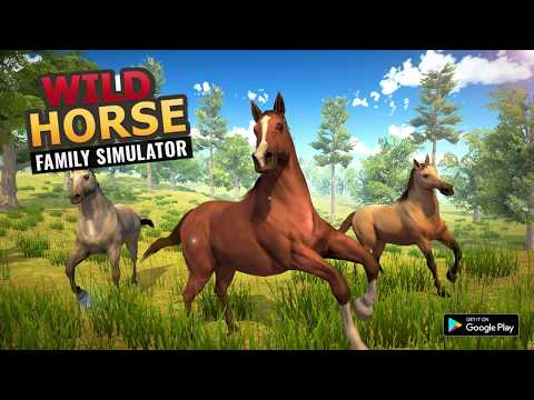 video review of Wild Horse Family Simulator