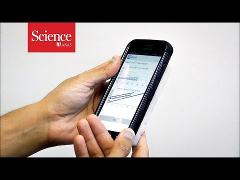 This modified smartphone measures blood pressure directly from your finger