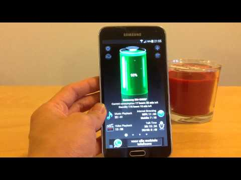 App Review Android OS: Use Battery HD: to know battery life and charge time