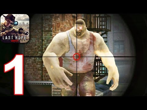LAST HOPE SNIPER - ZOMBIE WAR - Walkthrough Gameplay Part 1 - LOW SECURITY (Android Games)