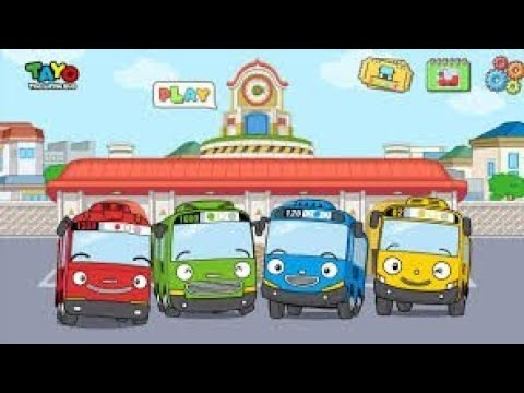 game tayo bis android ios gameplay for kids adn funny
