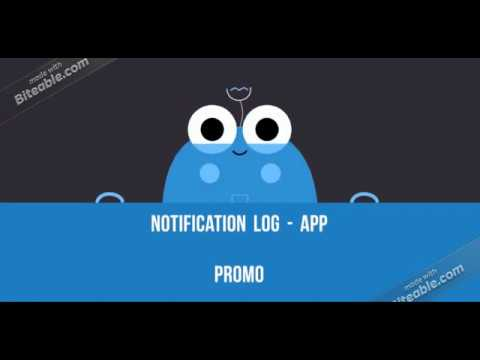 video review of Notification History Log