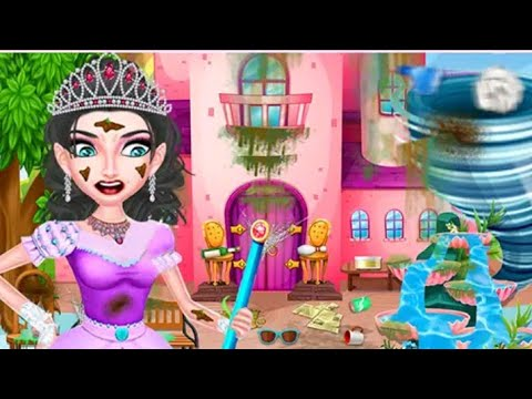 Winter Princess Big House Cleaning