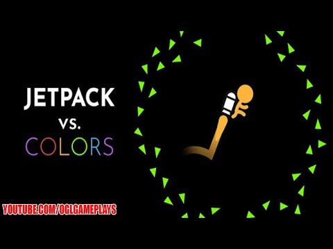 Jetpack VS. Colors Android Gameplay