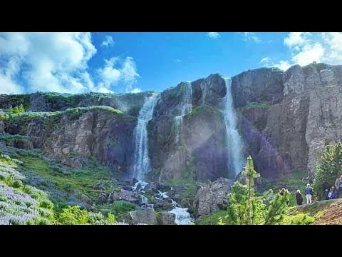 How to make your photo move || Waterfall photo in Pixamotion