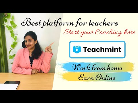 Teachmint - Best platform for Online Teaching | Earn Online with this FREE Coaching App | PART 1