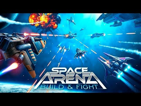 Space Arena: Build & Fight - Gameplay Trailer (iOS, Android)