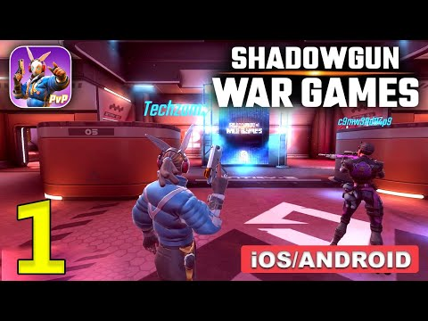 Shadowgun War Games Gameplay (Android, iOS) - Part 1 BETA