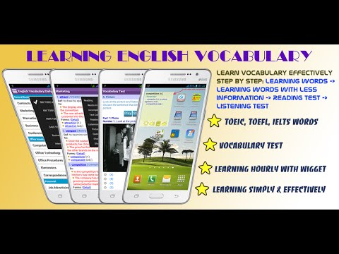 MobileSoftVn - English Vocabulary Daily: How to use the app effectively