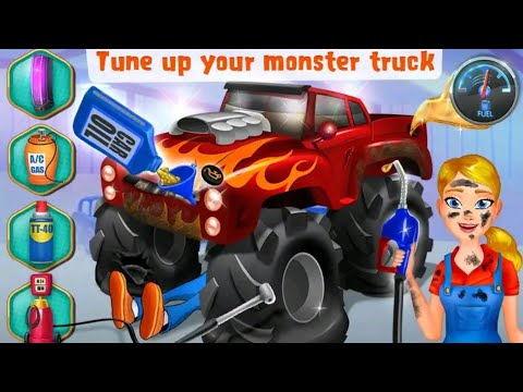 Mechanic Mike Monster Truck - Android gameplay Movie apps free best Top Film Video Game Teenagers
