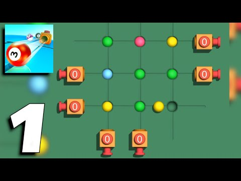 Ball Push - Gameplay Part 1 Levels 1-30 (Android, iOS)