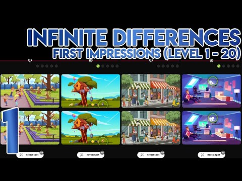 Infinite Differences First Impressions [Level 1 to 20]