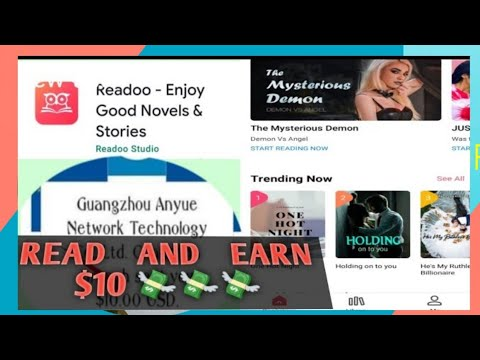 READOO APP   EARN $10 BY READING YOUR FAVORITE NOVELS   AirenKoo