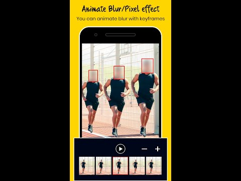 Blur Faces in Video using Android App