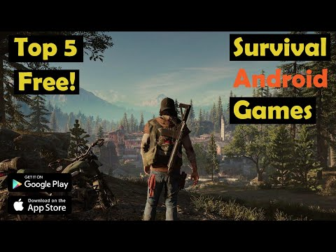 Top 5 Free Survival Android Games | High Graphics | FANSEE