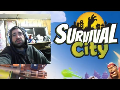 SURVIVAL CITY Zombie Base & Defend   Free Mobile Game   Android / Ios Gameplay Youtube YT Video Leon
