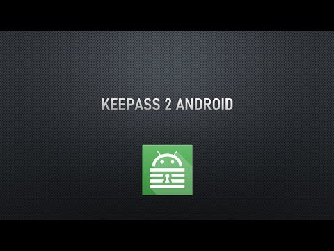 video review of Keepass2Android Password Safe