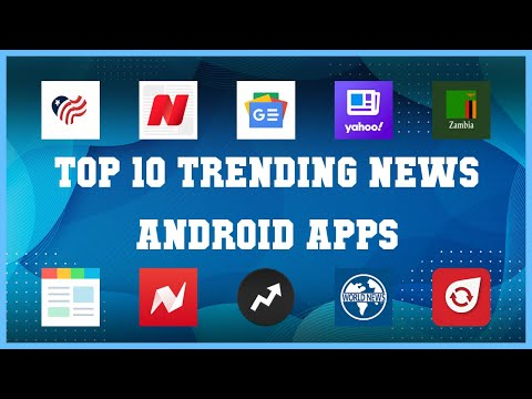 Top 10 Trending News Android App | Review