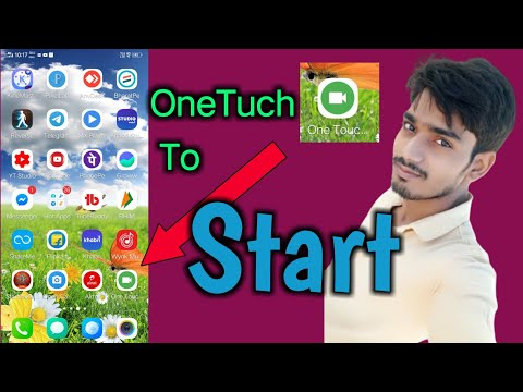 One Tuch To   Start Background   Video Recorder   how to use this App   Full Tutorials
