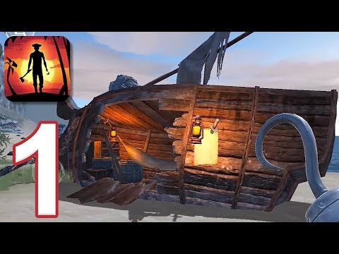 Last Pirate: Island Survival - Gameplay Walkthrough Part 1 (iOS, Android)