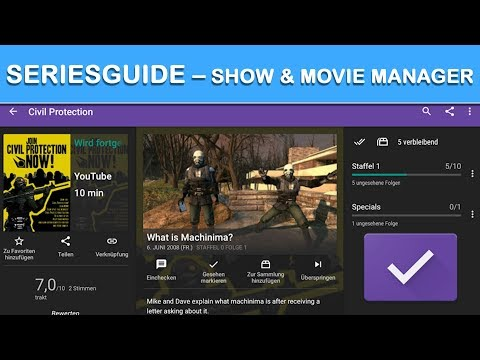 video review of SeriesGuide