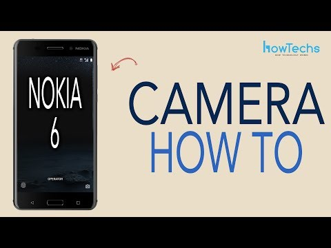 Nokia 6 - How to use the Camera and Slow Motion Video Camera